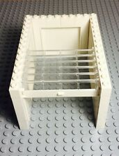 Lego New City White Garage Complete Assembly With Side Panels / walls