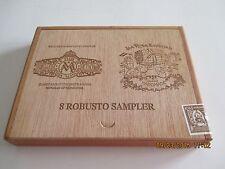La Flor de Maria Mancini Wooden Cigar Box Robusto Sampler 1973