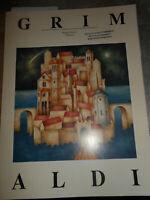 LIBRO: PAOLO GRIMALDI - BORGHI ONIRICI TEMPERE - 1991 ****