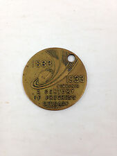 1933 Century of Progress Chicago Illinois Souvenir Charm Token World's Fair