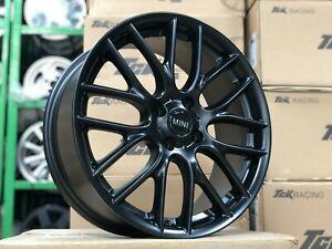 New 17 inch MINI Cooper JCW design 4x100 BLACK Wheel (set of 4) R52 R53 R55 R56