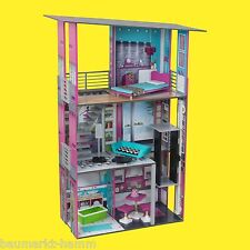 KIDKRAFT Großes Glamuröses Puppenhaus Nr 65192 Dollhouse Holz Puppen