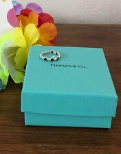 Tiffany & Co. Ziegfeld Silver/Black Spinel Ring