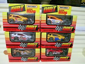 1992/93 Limited Edn. MATCHBOX DIRT MODIFIED RACER Variations New in C9 Mint Box
