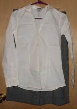 The Limited H&M 2 Piece Outfit Capri & Long Sleeve Button Down Shirt Size 6