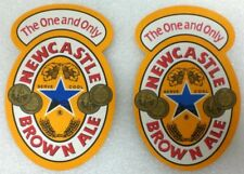 45 -  NEW CASTLE BROWN ALE . Brewery Beer Pub Coasters THE ONE AND ONLY New