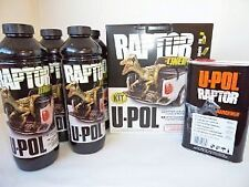 SALE UPOL Raptor BLACK Tough Urethene Coating Truck Bed Liner - Trailers - Boats