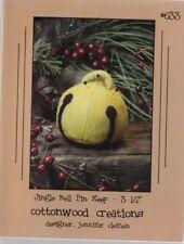 PATTERN - Jingle Bell Pin Keep - cute wool pincushion PATTERN - Cottonwood