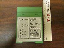 Brandle Elektronik Leakage-Modul DIN LM-B1 A8
