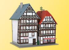 Kibri 36404 Z Gauge Timber-Frame Houses FRITZLAR,2 Pcs # NEW ORIGINAL PACKAGING