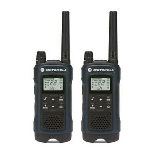 Motorola T460 Talkabout Weatherproof 35 mile 2-way Radios 2-pack