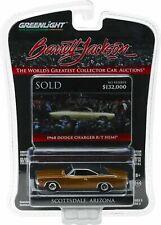 1968 Dodge Charger HEMI R/T Gold /Black *** Greenlight Barrett Jackson 1:64 NEU