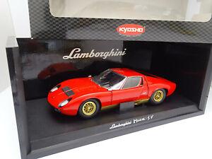 Kyosho 1/18 - Lamborghini Miura P400 SV Rouge