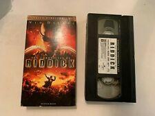 2004 The Chronicles Of Riddick Vhs Video Tape Vin Diesel