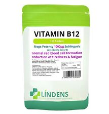 Vitamin B-12 1000mcg High Potency 1-a-day 2-PACK 200 Sublingual Tablets B B12