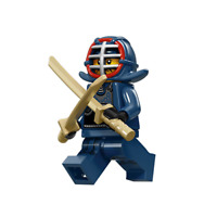 New Lego Kendo Fighter Minifigure From Series 15 (col239 col15-12)