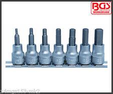 "BGS - Allen Key, Internal Hex Socket Set - 3 - 10 mm - 3/8"" Drive - Pro - 5107"