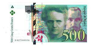 France Billet 500 FRANCS 1994  P160 PIERRE ET MARIE CURIE NEUF UNC