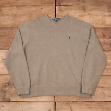 Polo Ralph Lauren Mens Sweatshirt Jumper 2xl Navy Blue Cotton G212 Activewear