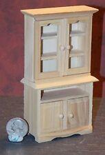 Dollhouse Miniature Kitchen Cabinet Hutch Cuboard 1:12 scale H6 Dollys Gallery