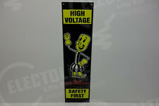 """Electric HIGH VOLTAGE Reddy Kilowatt Willie Wiredhand 6"""" BY 23"""" ELECTRICIAN GIFT"""