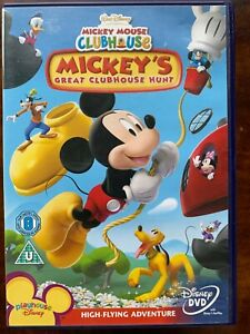 Mickey Mouse Great Clubhouse Hunt DVD Family Animated Kids TV Show