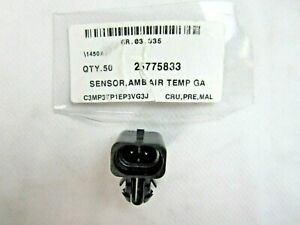 OEM ! AMBIENT OUTSIDE AIR TEMPERATURE SENSOR for 04-18 GM# 25775833 15035786