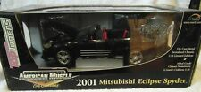 ERTL 1:18th scale American Muscle 2001 Mitsubishi Eclipse Spyder in Black 33796