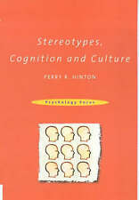 Stereotypes, Cognition and Culture-ExLibrary