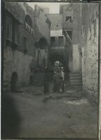 Jaffa Viaggio in Oriente 1909 Vintage Argento 6x9cm Palestina Israele