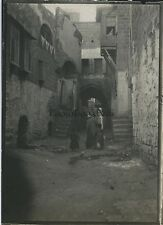 Jaffa Voyage en Moyen-Orient 1909 Vintage silver 6x9cm Palestine Israël