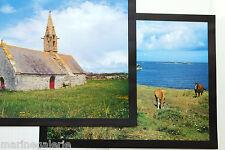 Cheval chevaux chapelle breton Bretagne décoration 2 mini poster photo 44cm neuf