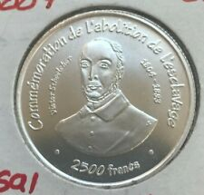 2007 Togo 2500 Francs Essai Silver Uncirculated - Only 850 Minted