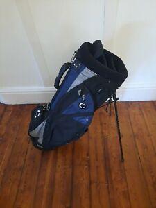Callaway golf stand bag with Rainhood,Carry straps,4 way divider & 4 Zip pockets