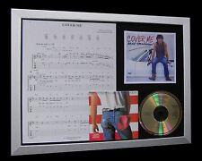 BRUCE SPRINGSTEEN Cover Me LTD CD MUSIC FRAMED DISPLAY+EXPRESS GLOBAL SHIPPING