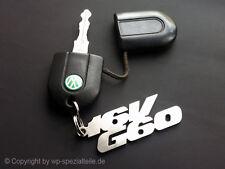 16VG60 Keychain Key Chain Keyring Pendant VW 16v-G60 Limited Race MK1 MK2 Golf