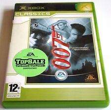 JAMES BOND 007 EVERYTHING OR NOTHING for Xbox - complete - PAL - Classics