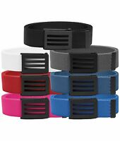 New For 2017 - adidas Golf 3-Stripes Performance Men's Webbing Belt - One Size