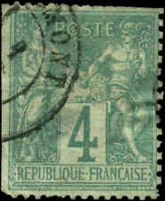 France Scott #66 Used