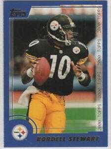 2000 Topps Football Pittsburgh Steelers Team Set