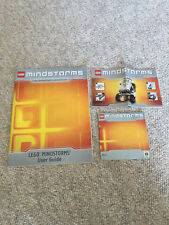 LEGO Mindstorms NXT 8527 User Guide, Quick Start and CD.