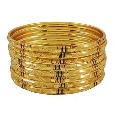 Bracelet Plaqués Or Set Bijoux Traditionnel Indien De Bollywood Son 2 * 8