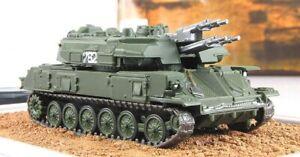 1:72 Soviet Tank ZSU-23-4 Shilka №38 series Russian tanks