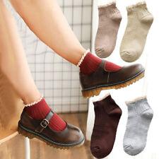 New Women Cotton Lace Ruffles Socks Spring Ankle Socks Hosiery Summer Casual