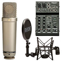 Rode NT1-A Condenser Microphone Set + Art Usb-Mischpult