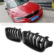 Carbon fiber Matte Black Front Kidney Grille for BMW F30 3-Series Sedan 2012- on
