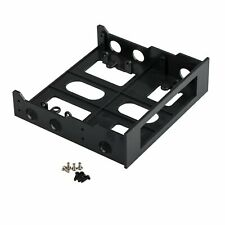 "TRIXES 5.25"" to 3.5"" Card Reader/Hard Drive Front CD/DVD Bay Bracket"
