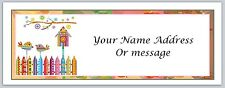 30 Personalized Return Address Labels Primitive Country Buy 3 get 1 free (c 43)