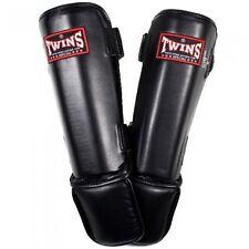 Twins-sg 3. negro. m-XL. espinilleras. shinguards. Muay Thai. MMA. k1.