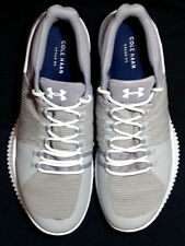 UNDER ARMOR Cole Haan GRAND OG Gray with White Wallkin Shoes SCARCE DESIGN SZ 13